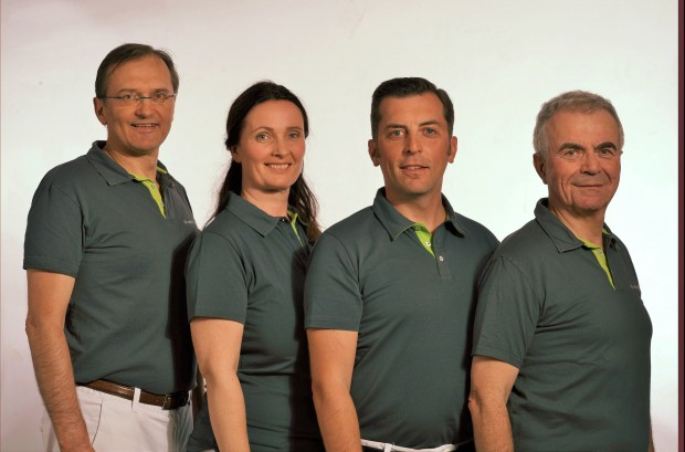 von links: Dr. Dirk Pohlmann, Bettina Koll, Daniel M. Handzel, FEBO, Dr. Roman Handzel